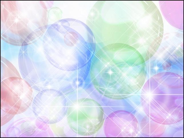 キラキラ輝く水晶の画像