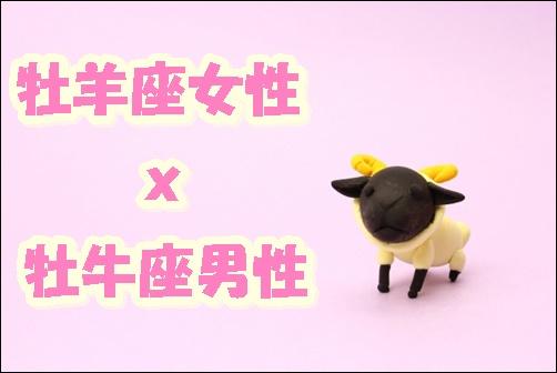 牡羊座女性x牡牛座男性の画像